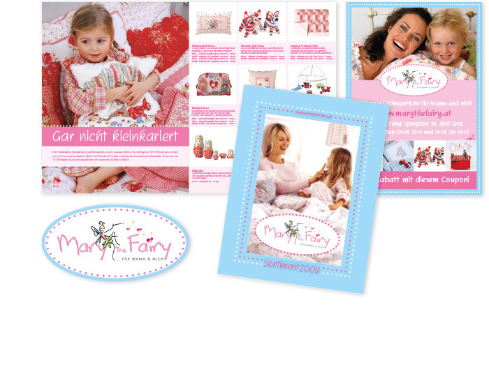 Mary the Fairy, Katalog, Inserat, Lieblingsstücke
